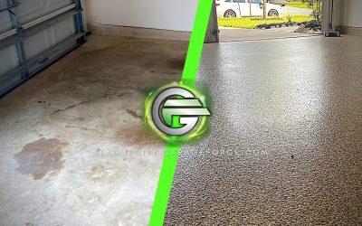 "Concrete Transformation-  Saddle Tan 1/4"" Full Chip"