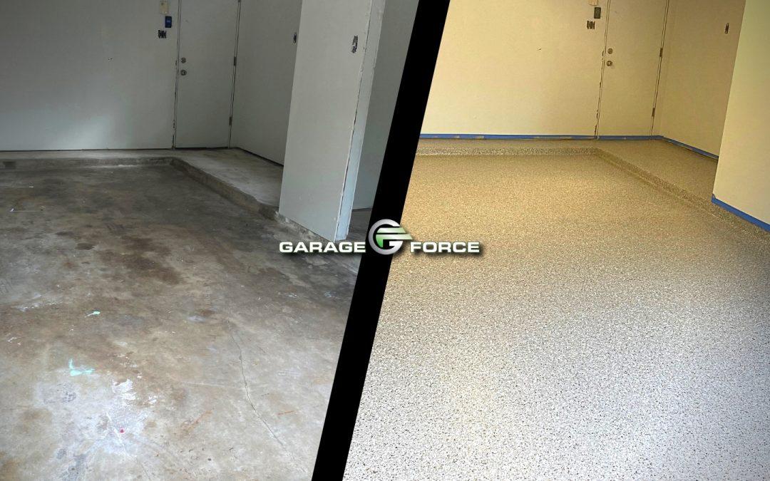 Garage Floor in League City, TX