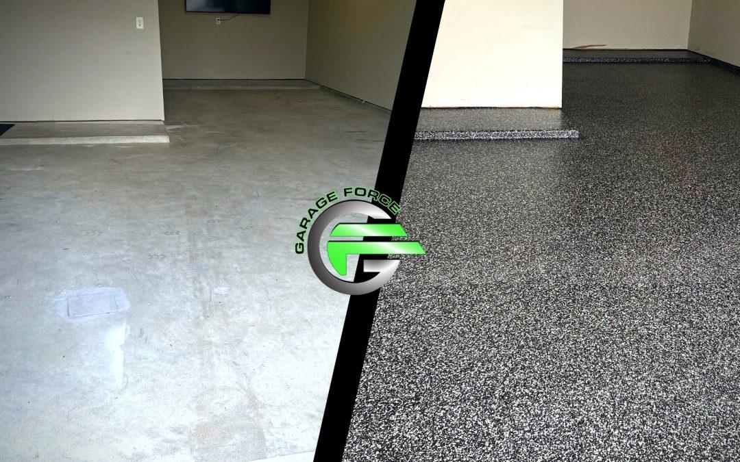 Galveston Tandem Garage Floor Makeover